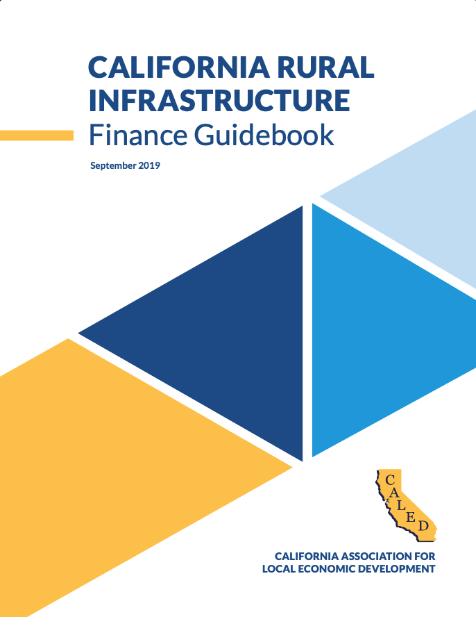 2019 CA Rural Infrastructure Finance Guidebook