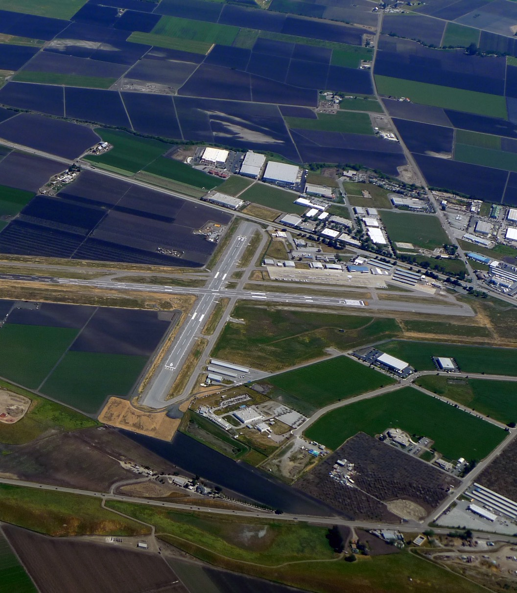 Hollister Airport Aerial Photo
