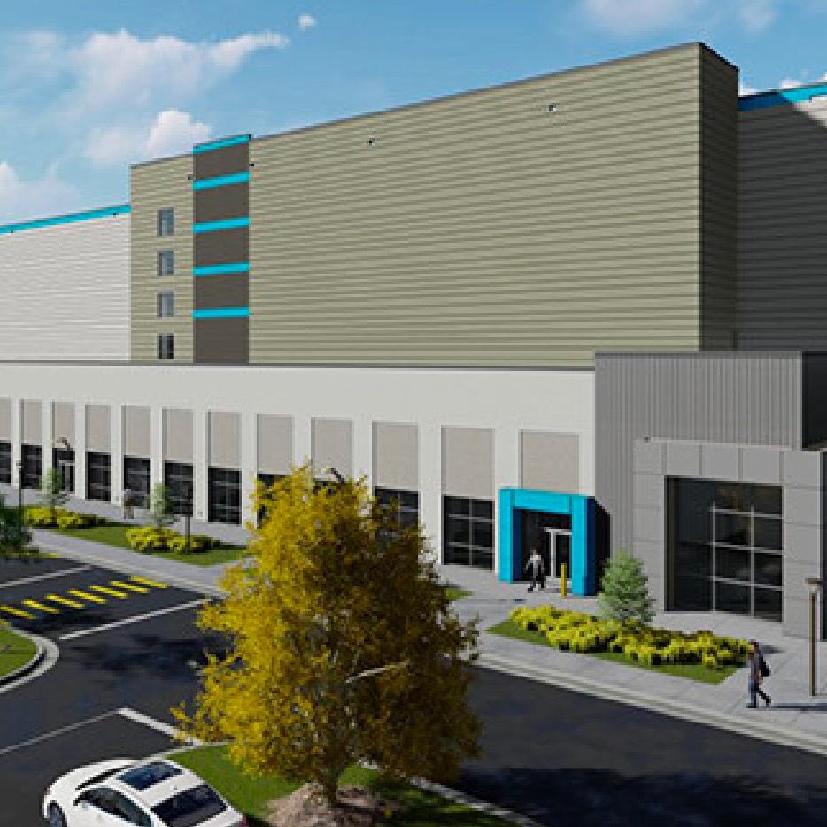 Amazon Building Rendering