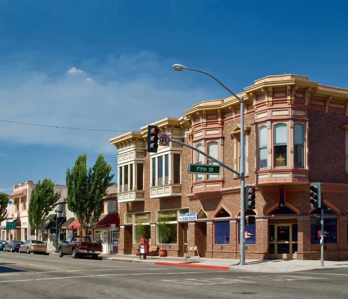 Downtown Hollister, CA - San Benito County
