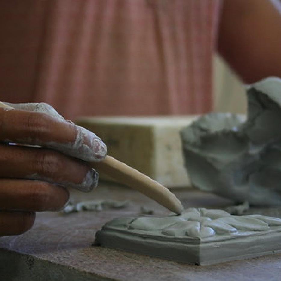 Fireclay Tile Worker